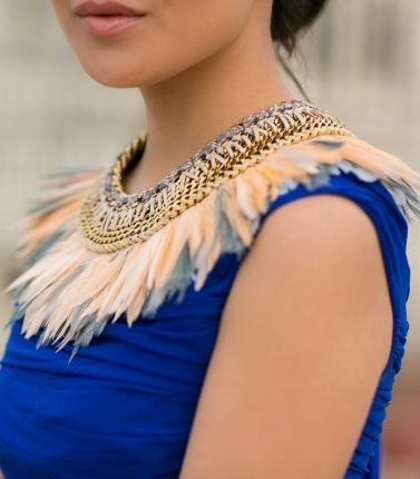16 best Neck pieces images on Pinterest Neck piece Feathers and