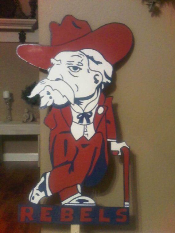 Got this for JPs bday!!!  Ole Miss Mascot on Etsy, $35.00