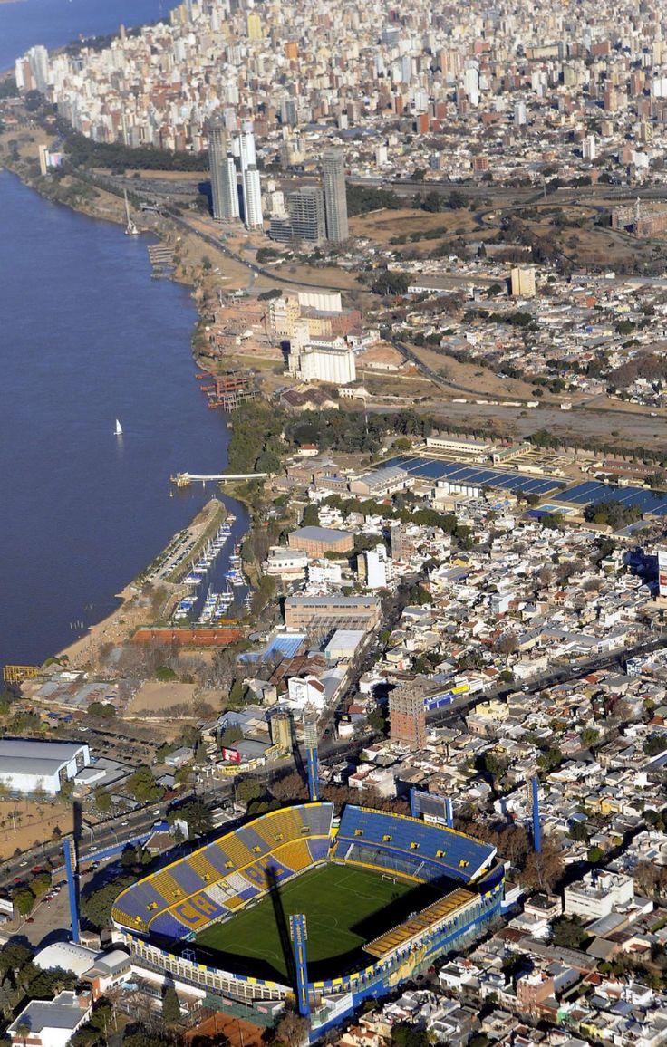 Rosario Central's Estadio Gigante de Arroyito stadium in Rosario, Argentina (AP Photo/Matias Sarlo). (lbk)