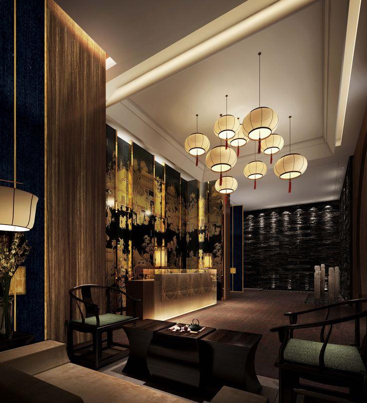 Reception chinese restaurant restaurant lounge - Chinese restaurant interior pictures ...
