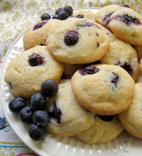 Lemon Blueberry Cheesecake Cookies