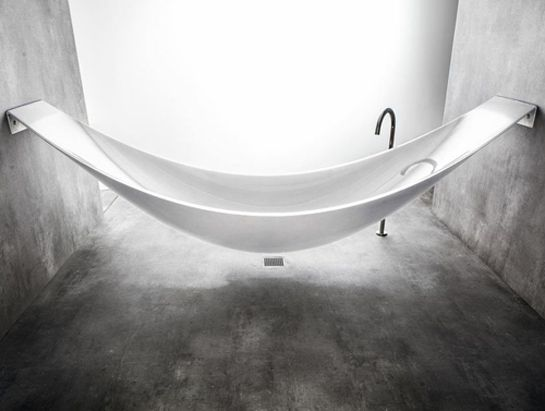 The Hammock Bathtub A Vessel Bathtub Made In Carbon