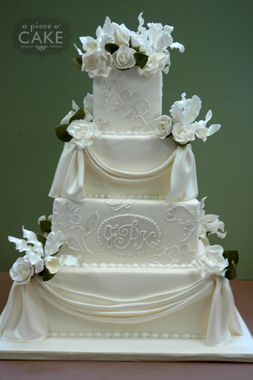 Jamaica Kevins Wedding Cake This Is Just Exquisite From The Sugar Paste