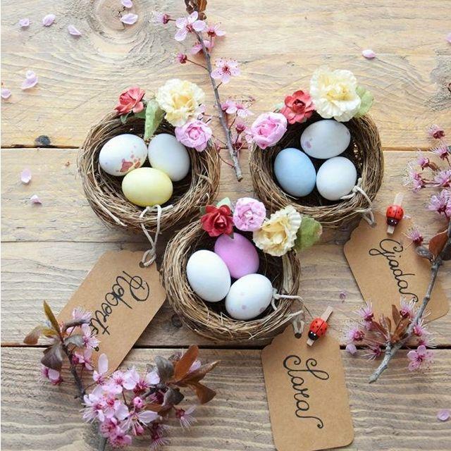 Per addobbare il tavolo di Pasqua, la nostra @giadaesara ci spiega come fare dei deliziosi cestini con le uova