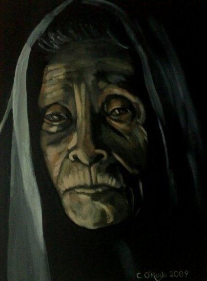 """Juxtaposition""  20"" X 24"" Acrylic On Canvas    Christopher O'Hoski    www.facebook.com/christopherohoski"