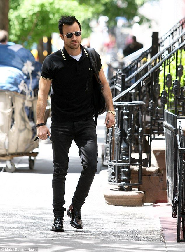 Trouble with the neighbors: Justin Theroux, 45, is in a legal battle with a neighbor in New York City's Greenwich Village, suing the man for $350,000 and punitive damages. Theroux was snapped outside of the home in 2013
