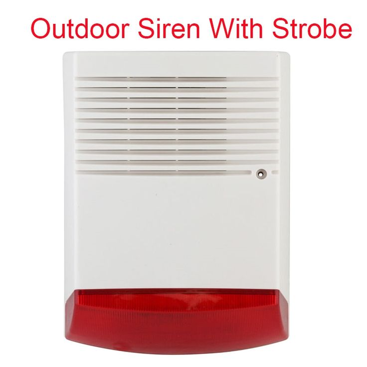 39.56$  Buy here - http://aip08.worlditems.win/all/product.php?id=32704650684 - Free shipping Outdoor Security Sound Light Strobe Siren 13.8-14.2V Red Flashlight Horn Home Intrusion Safety & Fire Alarm System