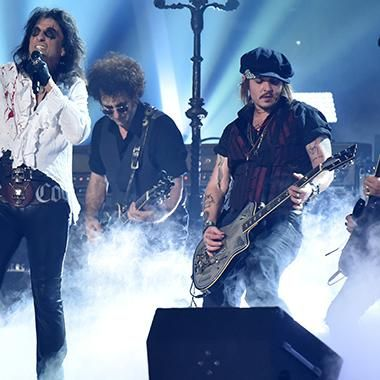 Music: The Hollywood Vampires to make late-night debut
