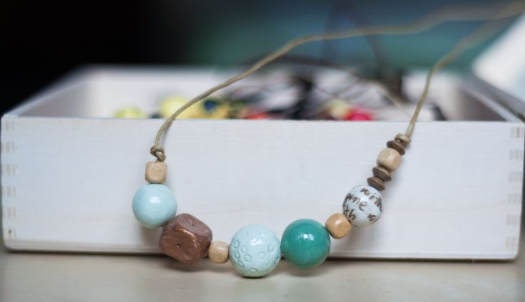 clay beads mint