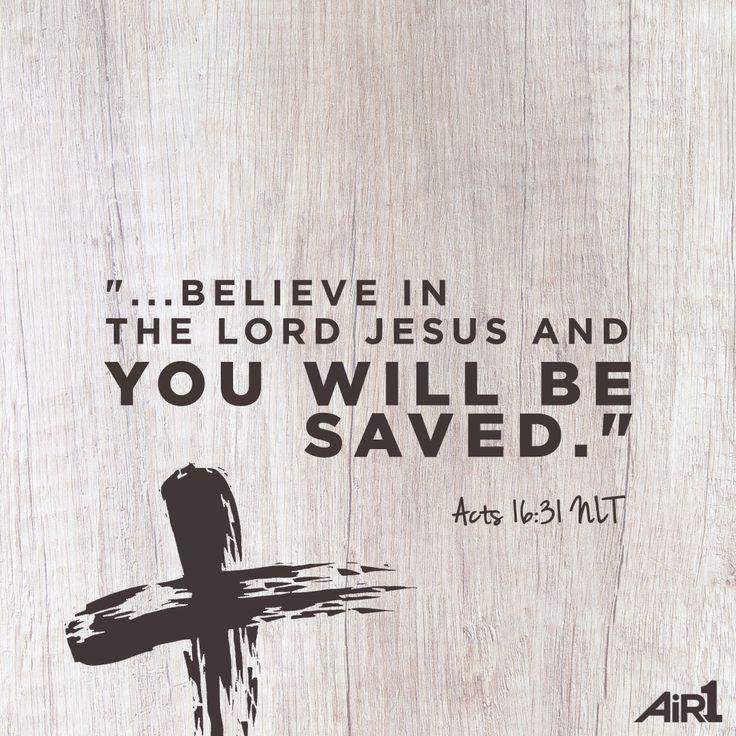 Cree que Jesucristo vino a la tierra para libernarnos de la magnitud de nuestros pecados y que resucito al tercer dia, y seras salvo!!! Ten fe que Dios hara un cambio en ti. En el nombre de Jesus asi sera, Amen.