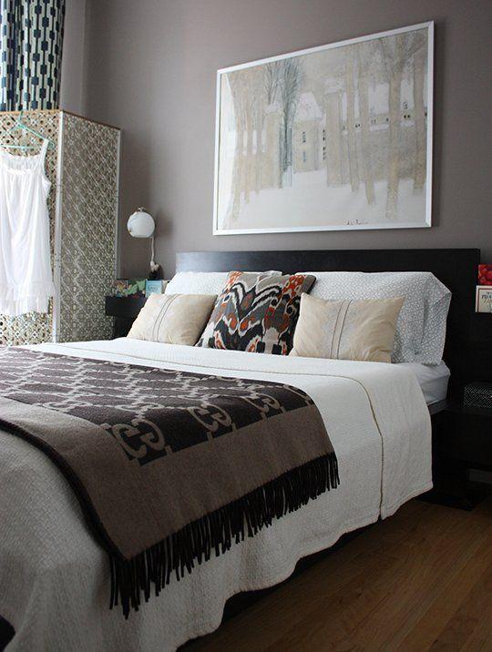 Bedroom Grey And Purple Part - 34: Paint Color Portfolio: Purple-Brown Bedrooms