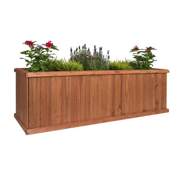 Large Corner L Shaped Wooden Garden Planter Box Trough: Best 25+ Cedar Planter Box Ideas On Pinterest