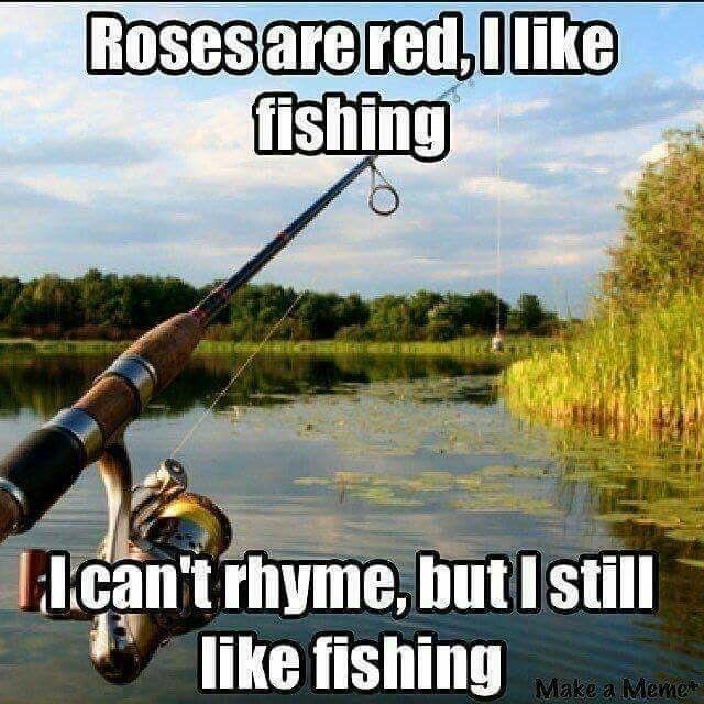 Ha Ha! That one is so cute. #fishinghumor