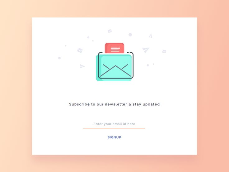 Day 4 - Newsletter Signup