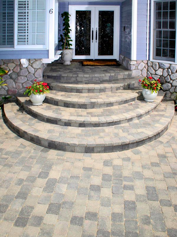 Walkway Paving Stones Pictures - Brick Paver Walkways - System Pavers