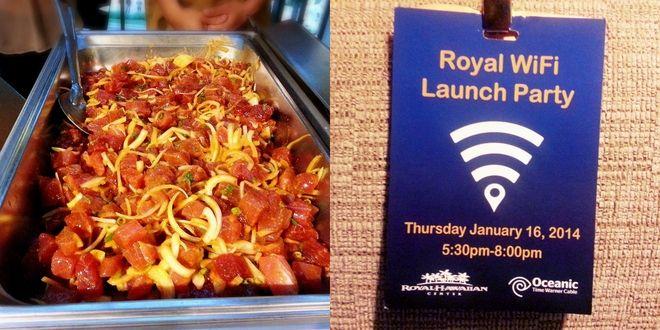 @royal Hawaiian Center Launched Free WIFI. It's good for 2 hours!!  ロイヤルハワイアンセンターで無料WIFIが使える! | プーコのハワイサイト