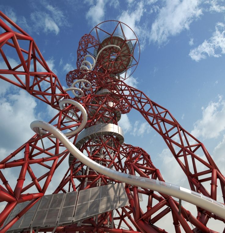 New for 2016, the ArcelorMittal Orbit slide to whizz you down to ground level, perfect for those looking for fun things to do in London.