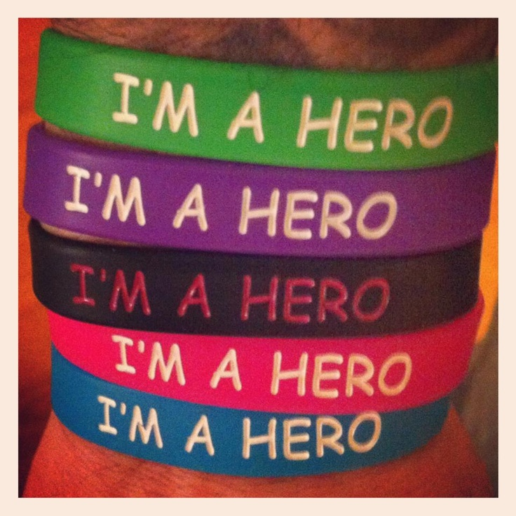 Going to start the I'm A Hero Campaign. Keep an eye out for more to come!