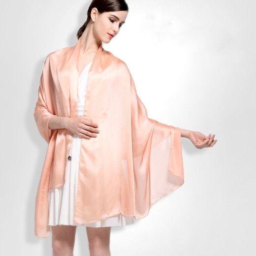 Hodvábny šál vo viac farbách zo 100% hodvábu 180 x 90 cm