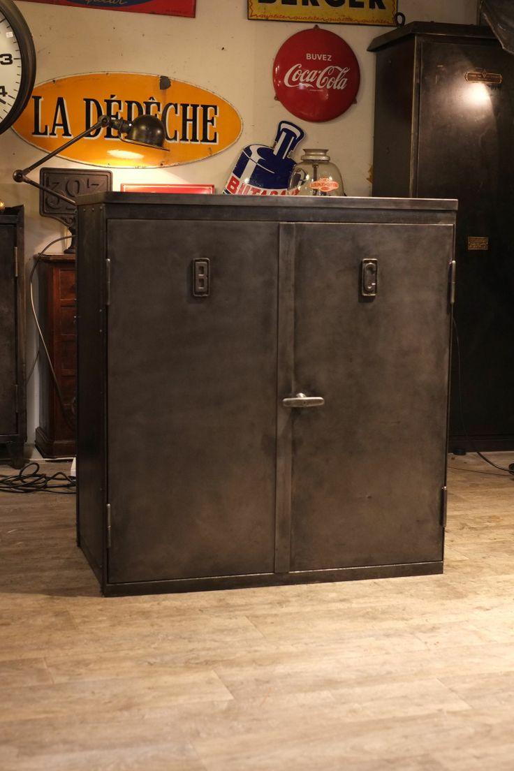 127 best images about lockers on pinterest steel locker industrial storage and vintage industrial. Black Bedroom Furniture Sets. Home Design Ideas