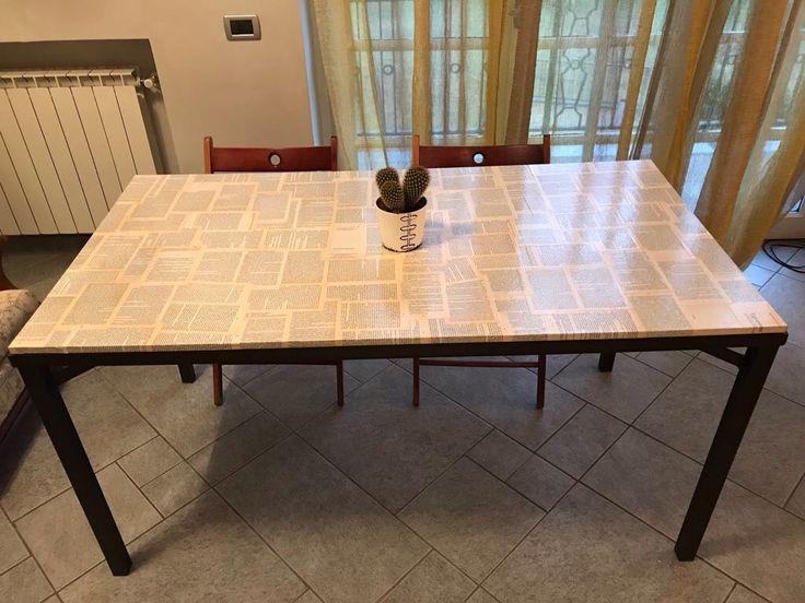 Oltre 25 idee originali per decoupage tavolo su pinterest decoupage mobili tutorial per - Decoupage su mobili laccati ...