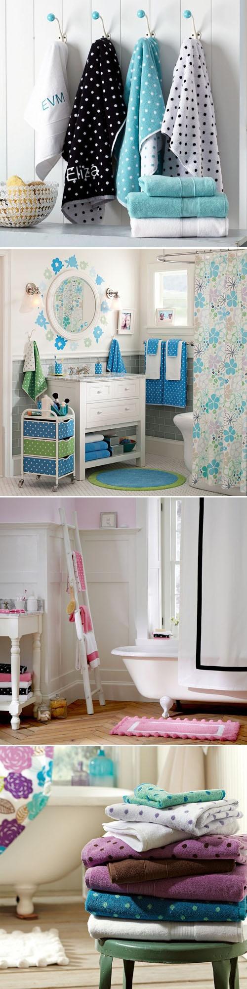 180 best BATHROOMS - Accesories images on Pinterest | Towels ...