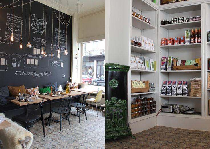 ICI Epicerie fine / néo-cantine  35, rue Darwin  1050 Bruxelles