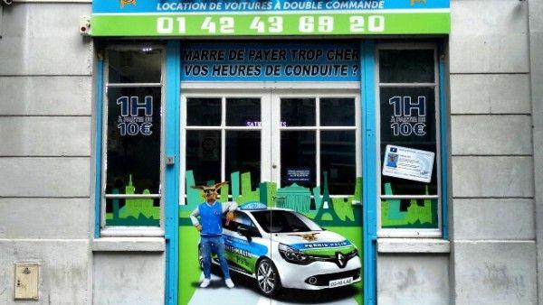 Permis Malin Saint Denis : Location de véhicules double commande 27 Boulevard Félix Faure 93200 Saint Denis    01.42.43.69.20