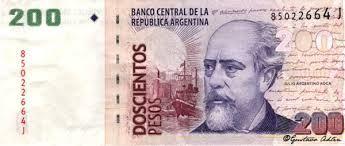 Resultado de imagen para billetes argentinos para imprimir tamaño real