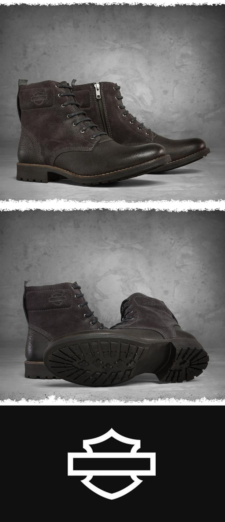 Treat yourself with these boots , part of our brand new Black Label footwear collection.   Harley-Davidson Men's Stevenson Boots - #FathersDay