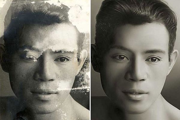 Turn Old Black and White Photos To Colored + Photo Restoration tutorials