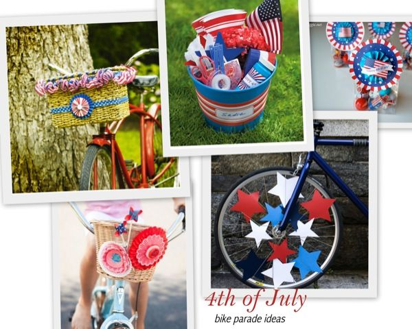 Bike Parade ideas for the 4th of July. Have a kid bike parade in YOUR neighborhood!