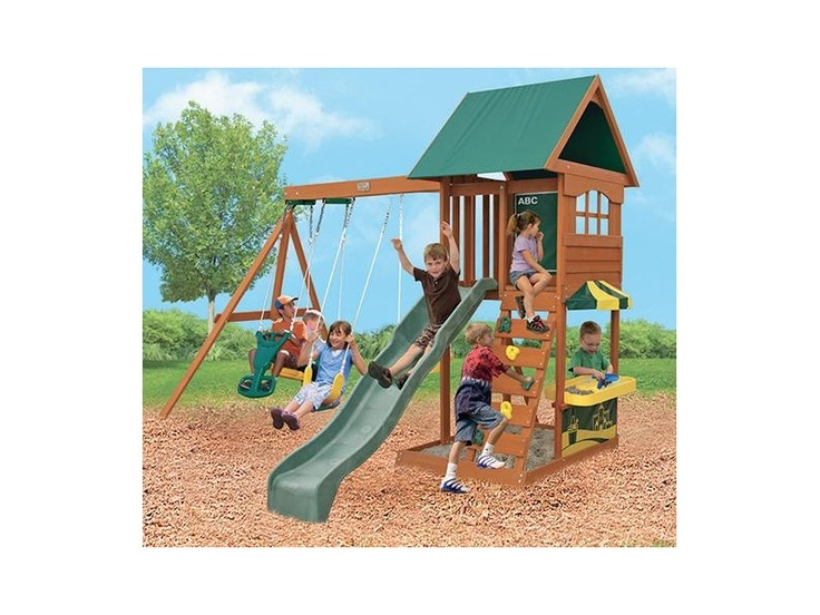 wooden swingset target backyard toysbig