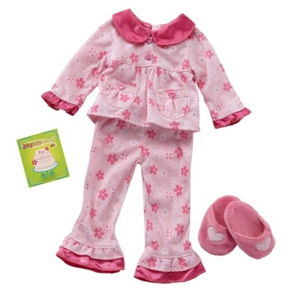 Our Generation Doll Outfit Up Until Yawn Christmas