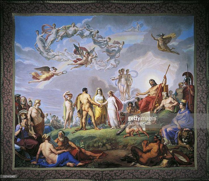 Pietro Bienvenuti - Marriage of Hercules and Hebe, 1817-1829