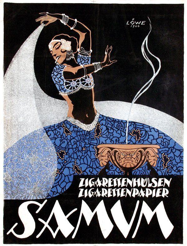 Robert Löwe, Samum Zigarettenhülsen,  95,5x126,5, 1920