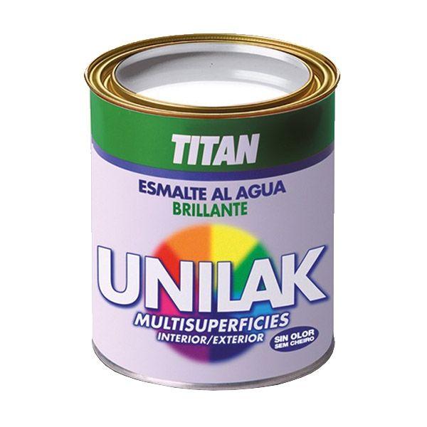 Esmalte al agua brillante Titan #esmaltebrillante #pinturadeesmalte