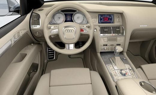 Beige Interiors | Audi Q7 V-12 TDI concept interior