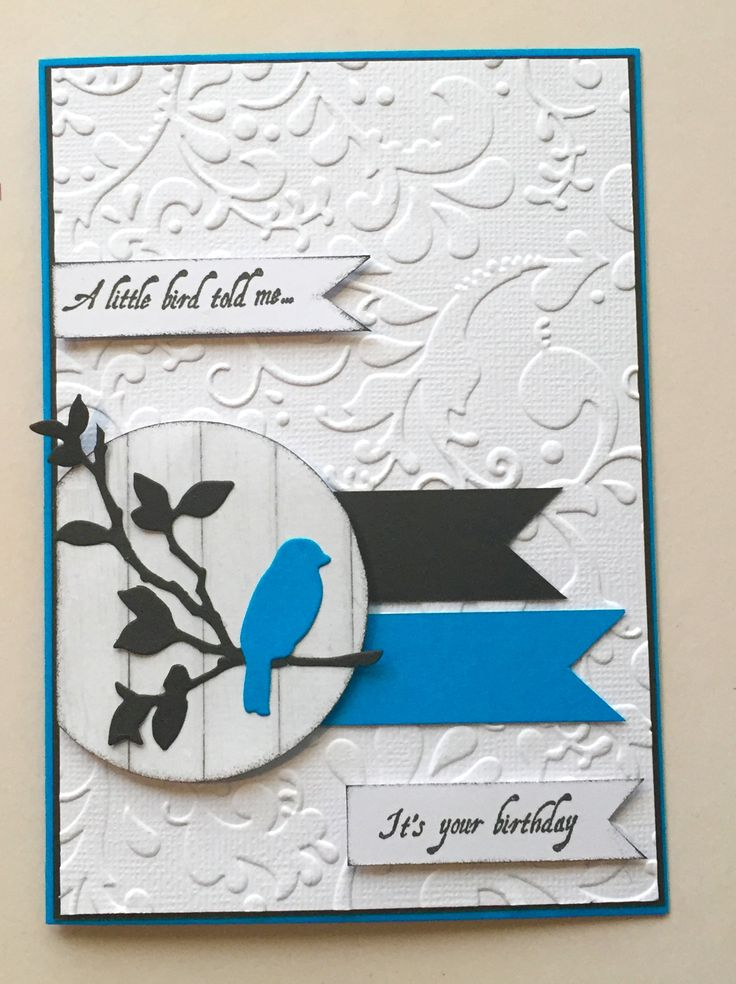Using Couture Creations Secret Garden Collection - Sparrow on a branch die