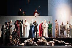 Uraufführung: FRANCESCO - Ein sinfonisches Bildertheater von Jo Fabian - Staatstheater Cottbus