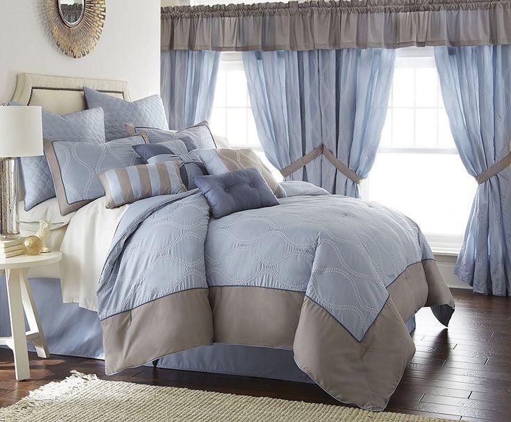 Amrapur Overseas Inc. Tropez 24 Piece Comforter Set, King  #PacificCoast #Contemporary