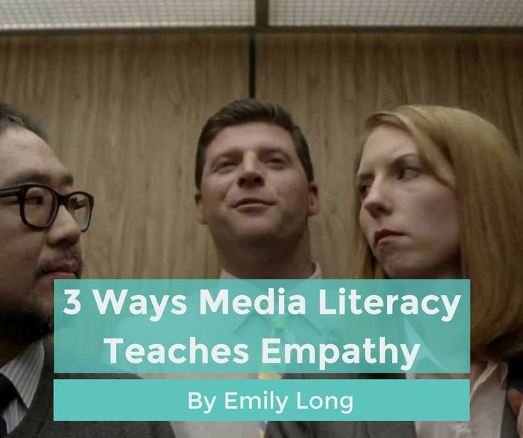 Empathy may be one of the most important social skills we learn. The process of teaching it aligns with media literacy skills taught by orgs like The LAMP.