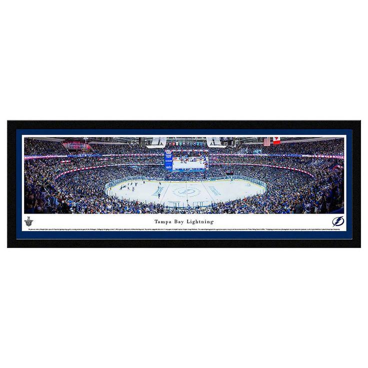 Tampa Bay Lightning Hockey Arena Framed Wall Art, Multicolor