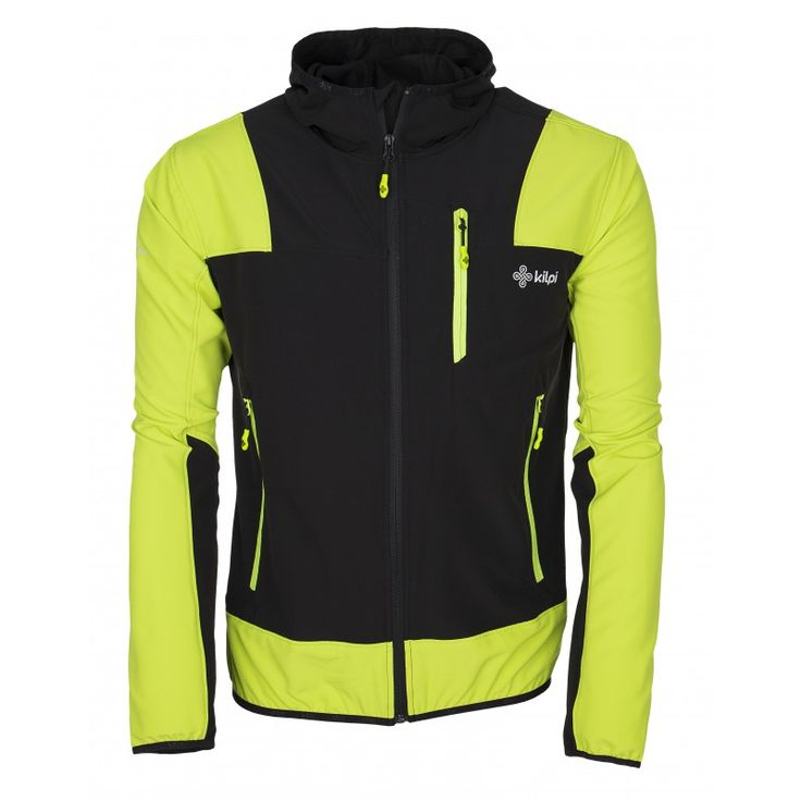 Men's technical jacket KILPI - JOSHUA - light green