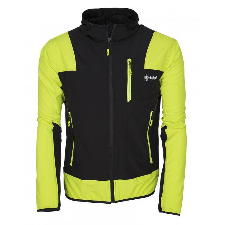 Men's technical jacket KILPI - JOSHUA - light green