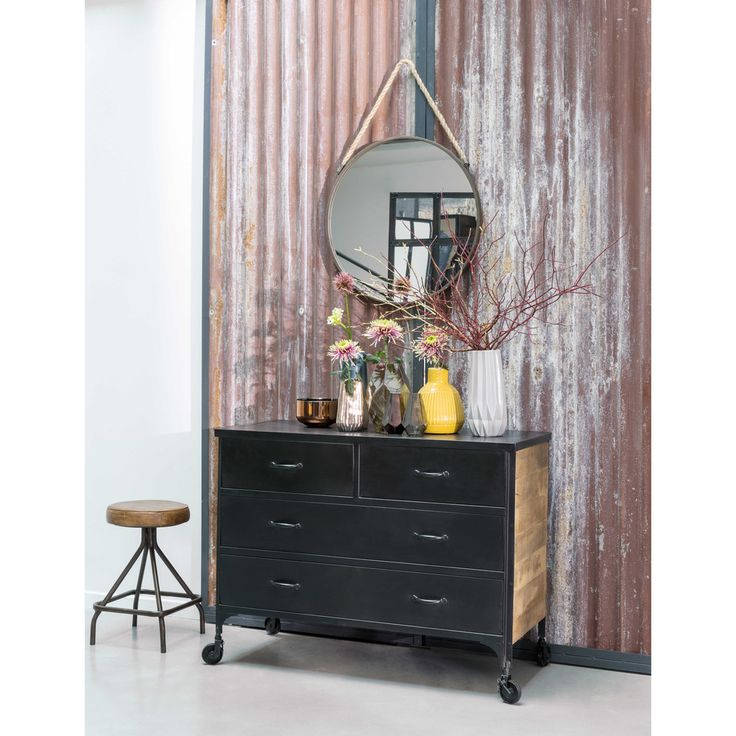 miroir cargo maison du monde amazing rusty metal arcade mirror h cm living room bumble cottage. Black Bedroom Furniture Sets. Home Design Ideas