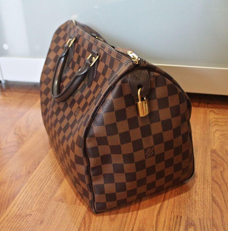 Louis Vuitton Speedy 35 I will someday own this bag!