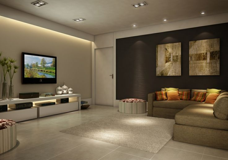 86 best images about home theater tv room sala de tv on - Sala home theatre ...