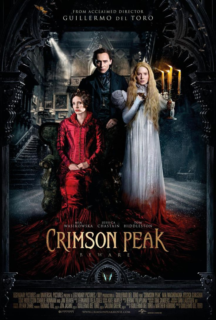 A new Crimson Peak poster: