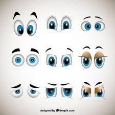 Resultado de imagem para ojos animados tiernos